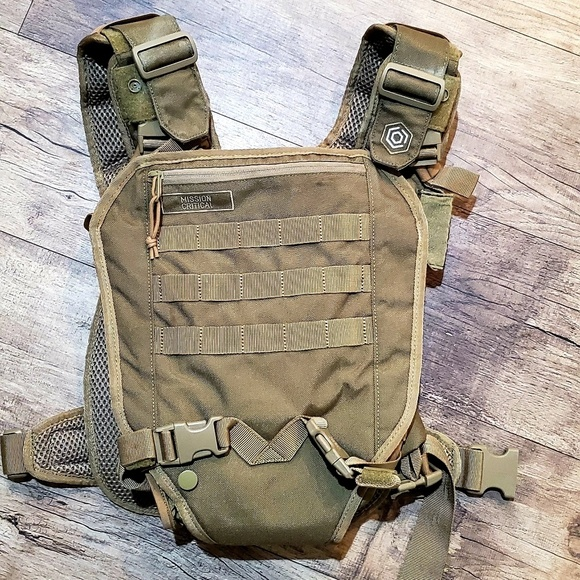 Mission Critical Tactical Baby Carrier In Coyote